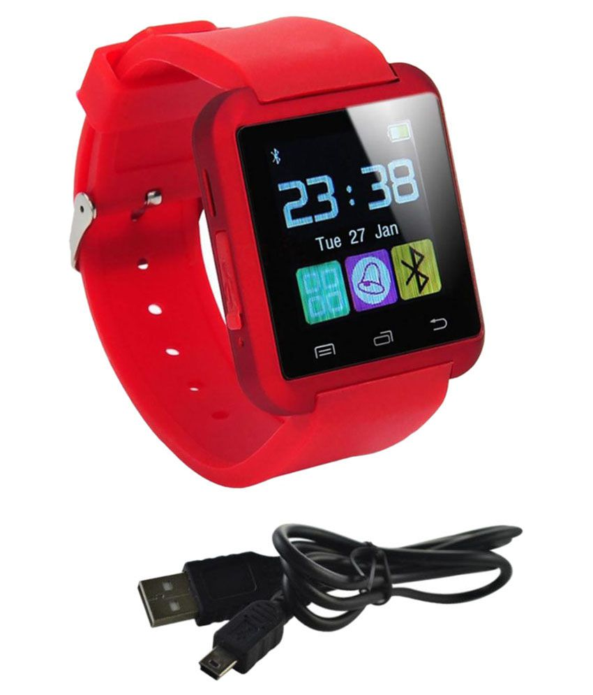 Estar cloud string Smart Watches Red