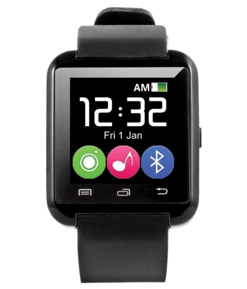 JIKRA myst Smart Watches Black