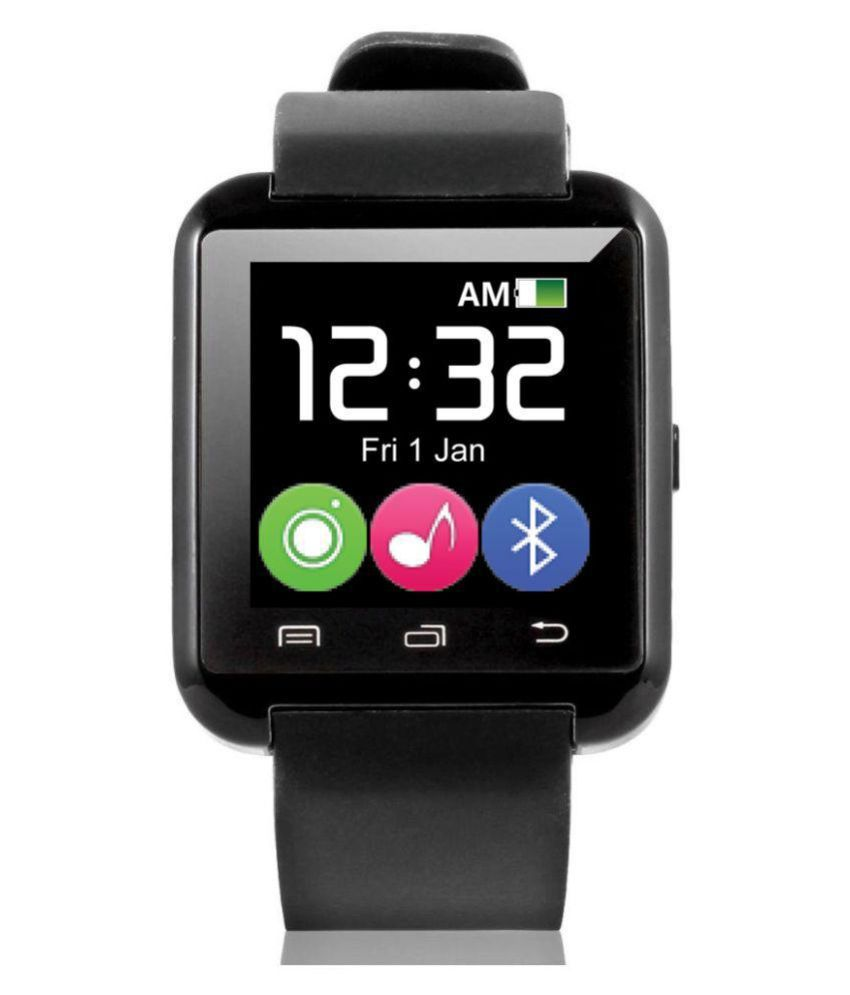 AKIRA a15 Plus Smart Watches Black