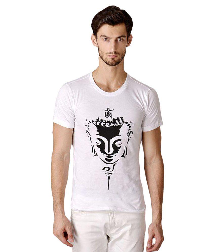 MereCedor White Round T-Shirt
