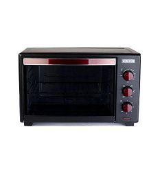 Usha Less than 20 Litres LTR Usha OTG 3619R 19L Oven Toaster Grill OTG Black