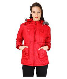 Tashi Delek Polyester Blend Hooded Jackets