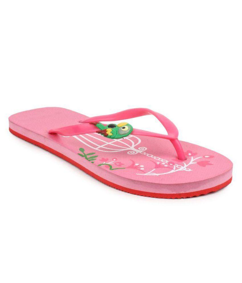 Amatra Pink Slippers