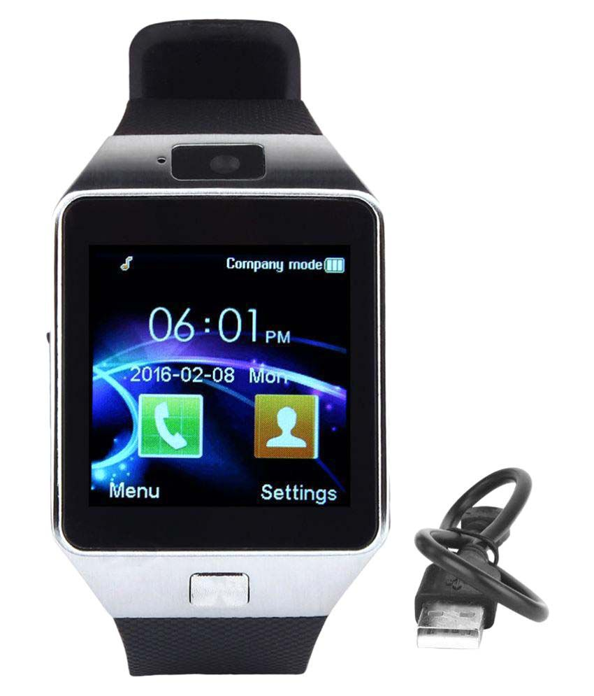 Incell a68 smarty Smart Watches Black