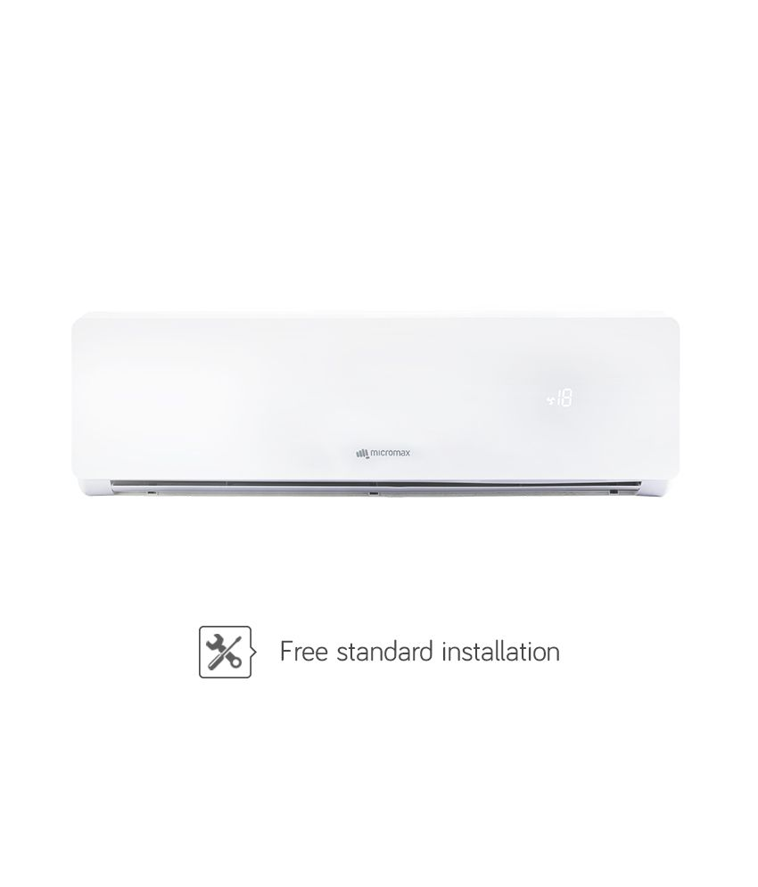 Micromax ACS18ED5AS01WHI 1.5 Ton 5 Star Split Air Conditioner