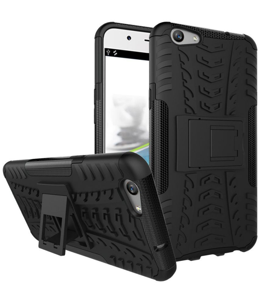 Oppo Neo 7 Case With Stand by Celzo - Black