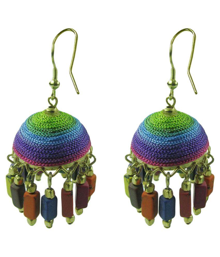 Collana Multicolour Jhumki Earrings