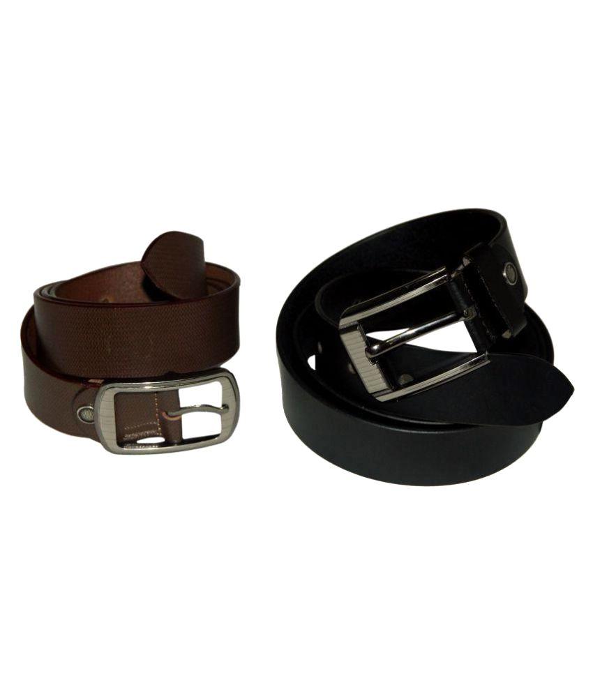 Arizic Multi Leather Formal Belts