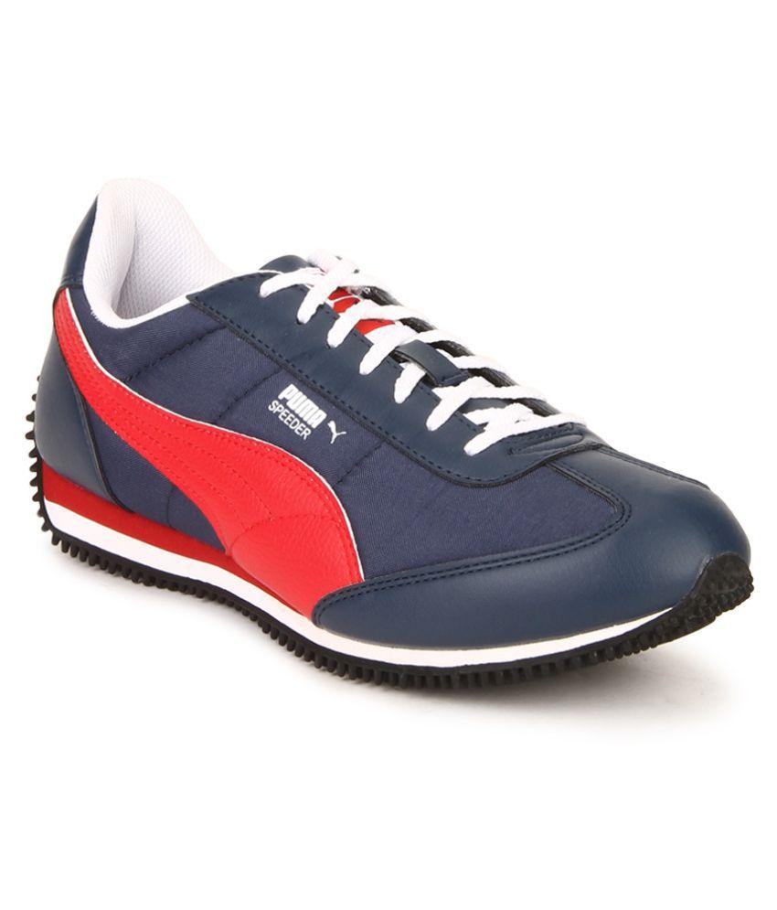 Puma Velocity Tetron II IDP Blue Wi Blue Casual Shoes