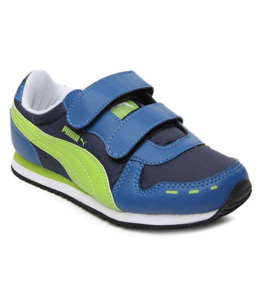 df7af9ad9d4 Puma Cabana Velcro Jr Kids Shoes Price in India- Buy Puma Cabana Velcro Jr  Kids Shoes Online at Snapdeal