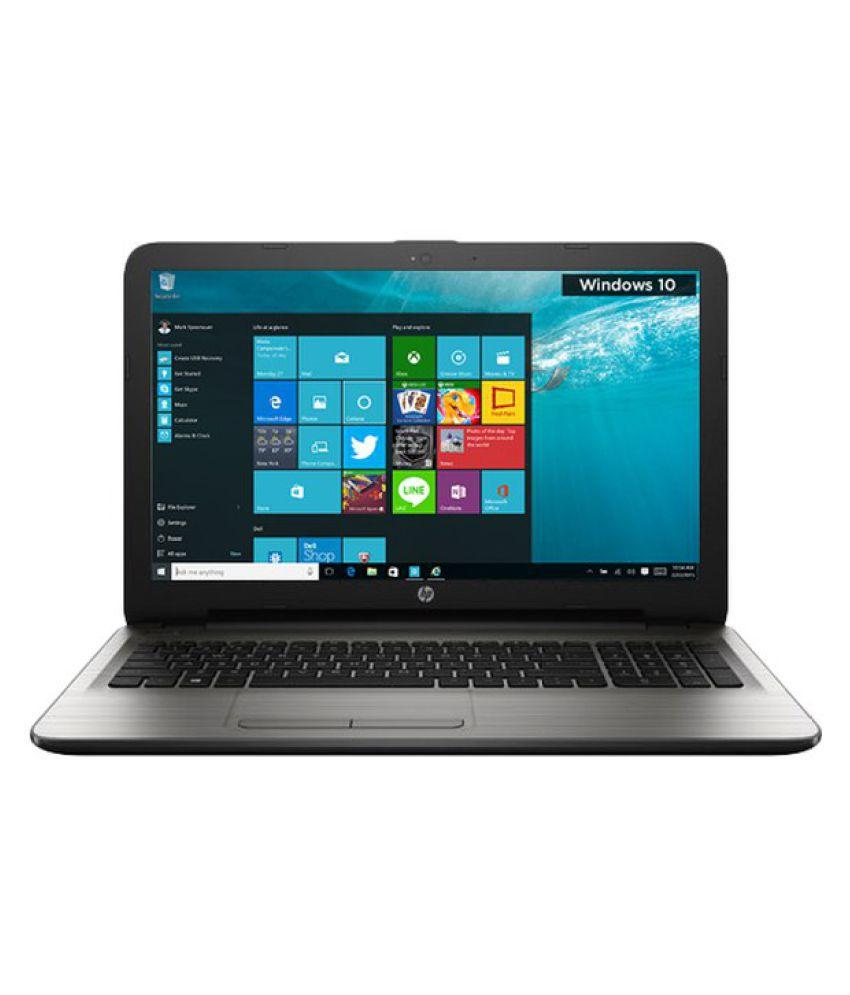 HP 15-AY021TU Notebook (5th Generation Intel Core i3- 4GB RAM- 1TB HDD- 39.62cm(15.6)- Windows 10) (Silver)