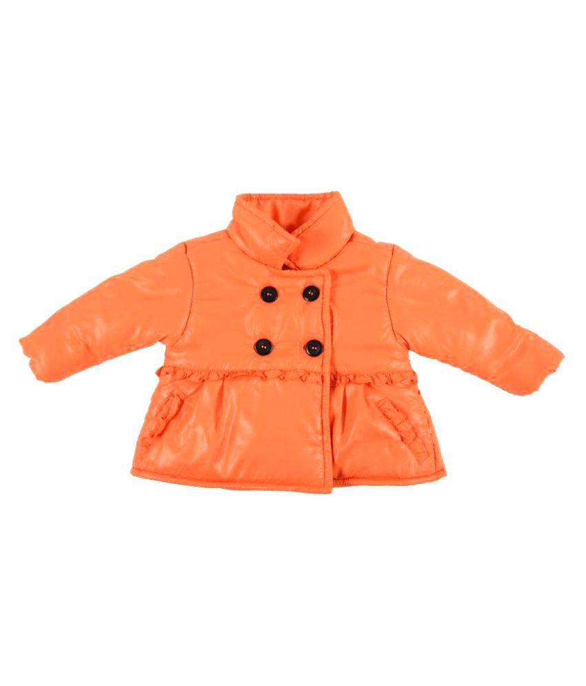 KidsDew Orange Polyester Jacket