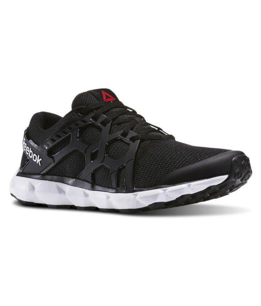 5ad1621ec42 Reebok HEXAFFECT RUN 4.0 MTM Black Running Shoes - Buy Reebok HEXAFFECT RUN  4.0 MTM Black Running Shoes Online at Best Prices in India on Snapdeal