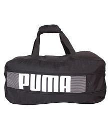 Puma Black Duffle Bag
