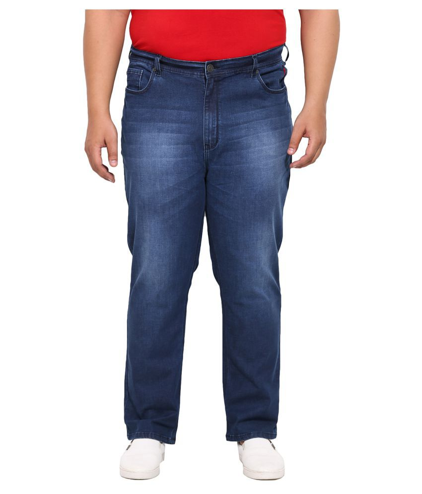 John Pride Blue Regular Fit Solid