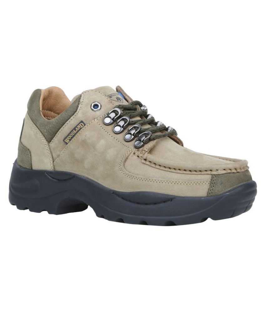 Woodland G 4092Y15-KHAKI Outdoor Khaki Casual Shoes ...