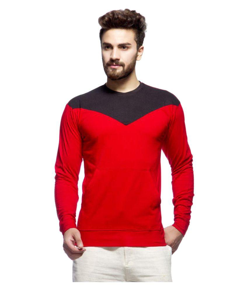 Demokrazy Red Round T-Shirt