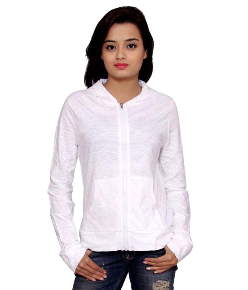 SML Originals White 100% Cotton Light Weight Jacket