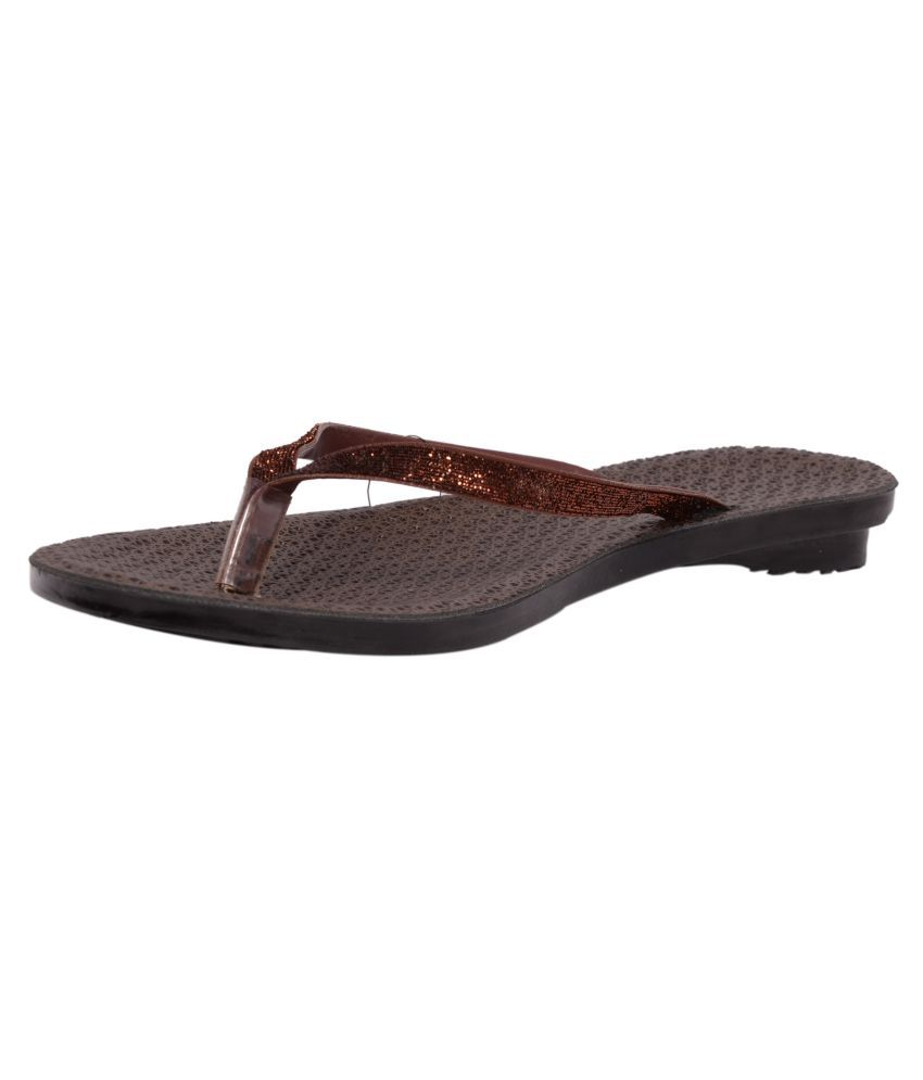 PU-Asia Brown Slippers