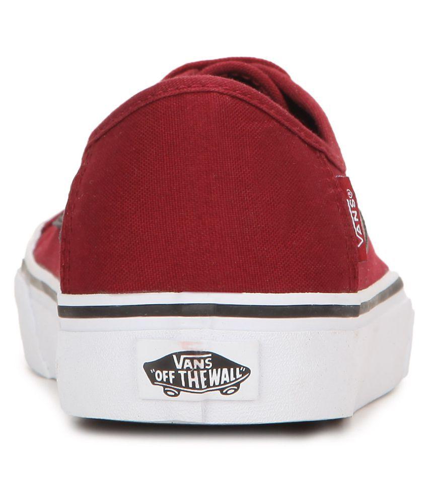 685ac0eef6f9 Vans Black Ball SF Sneakers Red Casual Shoes - Buy Vans Black Ball ...