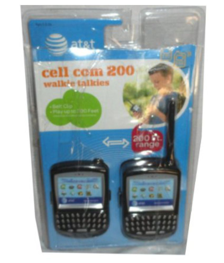 AT&T Cell Com 200 Walkie Talkies - Play Up To 200 feet