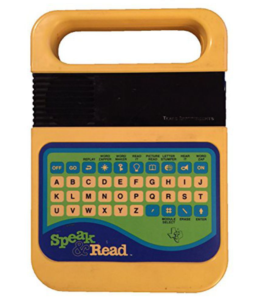 Texas Instruments SPEAK & READ Vintage Electronic Toy