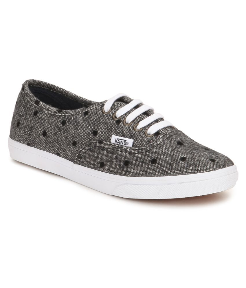 Shop for Youth Vans Authentic Lo Pro Skate Shoe in Black at