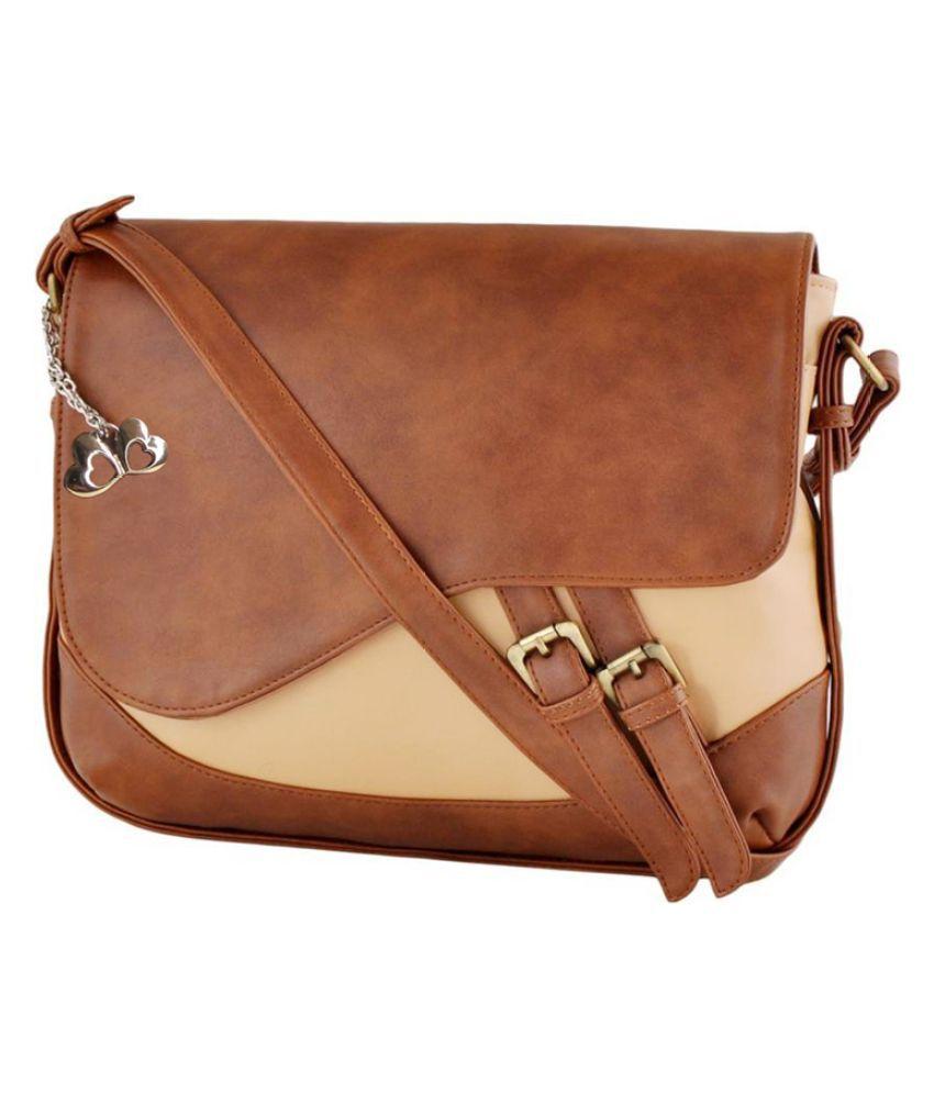 Anglopanglo Multi P.U. Sling Bag