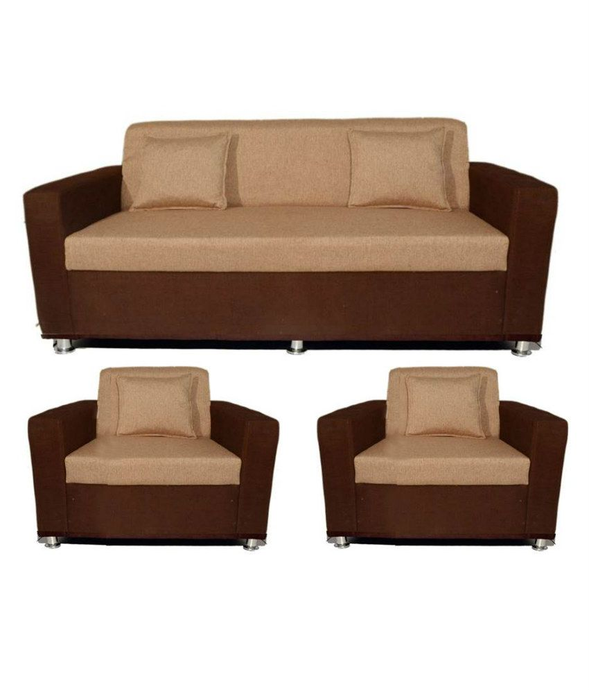 Buy Settees Online: Buy BLS Lexus 3+1+1 Sofa Set