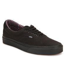 vans shoes black men