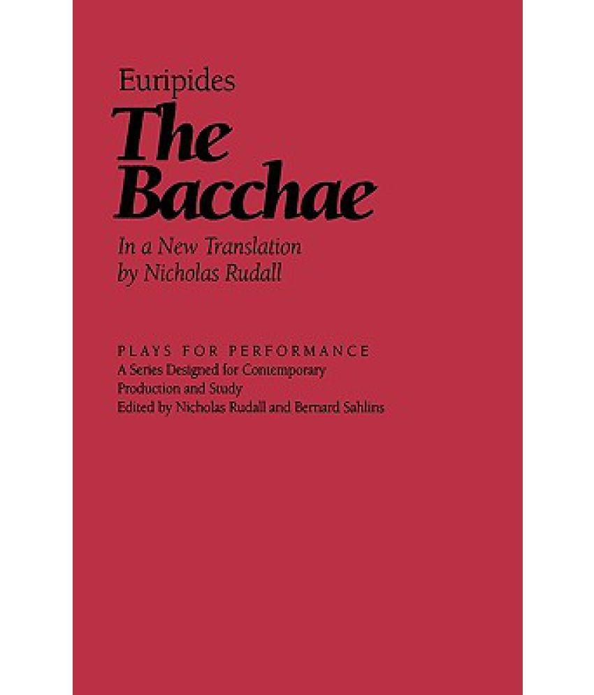 hero euripides bacchae essay