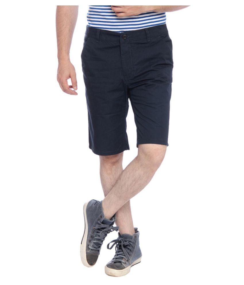 Parx Blue Shorts
