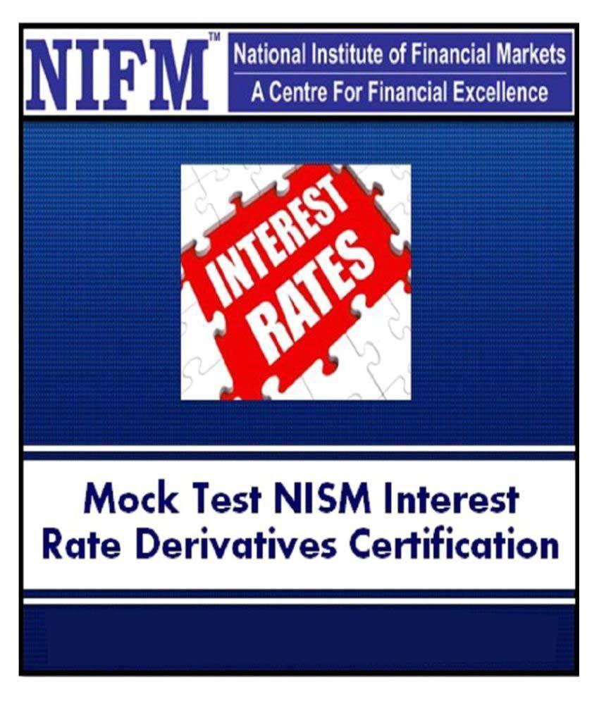 Online Mock Test Interest Rate Derivatives Nism Series Iv