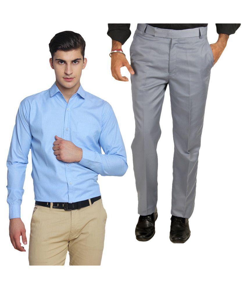 Van Galis Multi Regular Flat Trouser