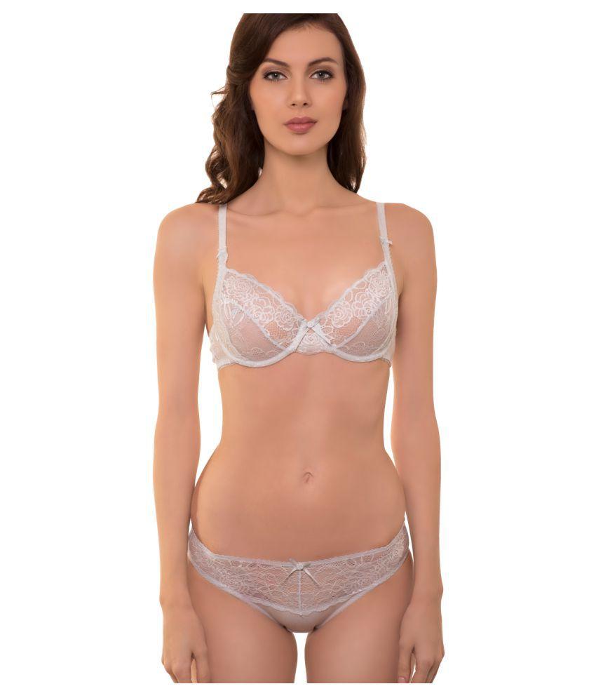 Buy SECRETT CURVES Lace Bikini Panties Online at Best ...