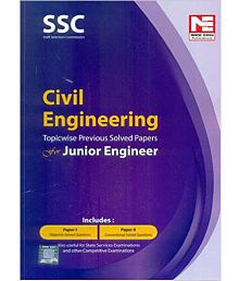 SSC Civil Engineering Topicwise Prev Solved Papers for Junior Engineer