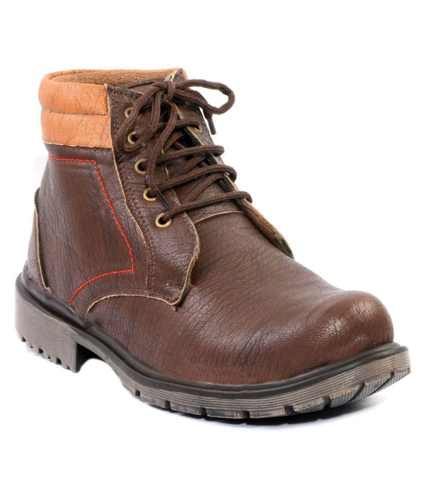 Madrid Brown Casual Boot