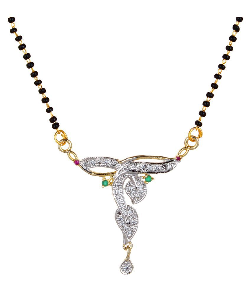 Fabula Multicolour Mangalsutra Set