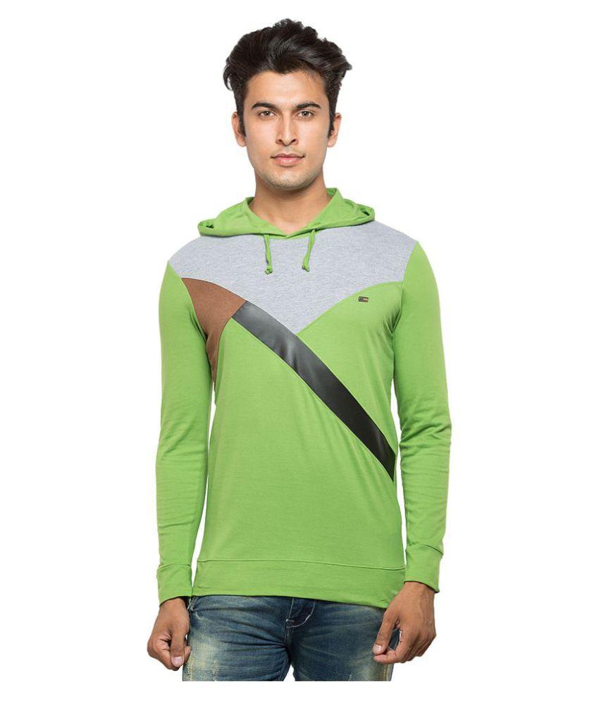 Maniac Green Hooded T-Shirt