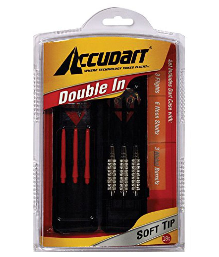 Accudart Double-In Set - Soft Tips