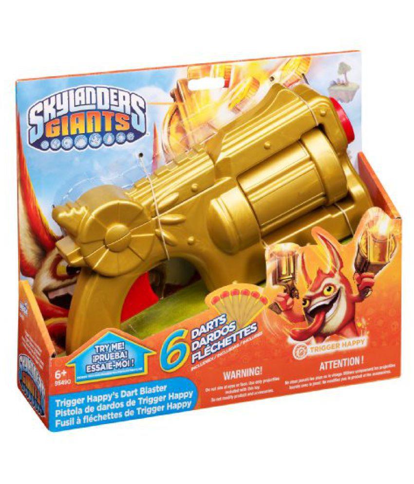 Mega Bloks Inc Mega Bloks Skylanders Trigger Happy''s Dart Launcher