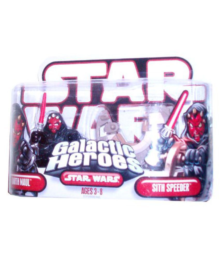 Star Wars Galactic Heros Darth Maul & Sith Speeder