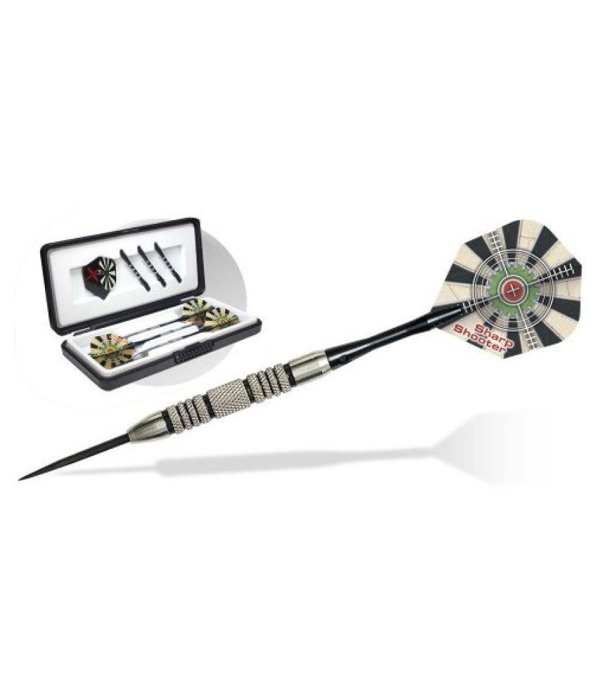 Dart World 18126 Sharp Shooter 80% Tungsten Steel Tip Dart (26-Gram)