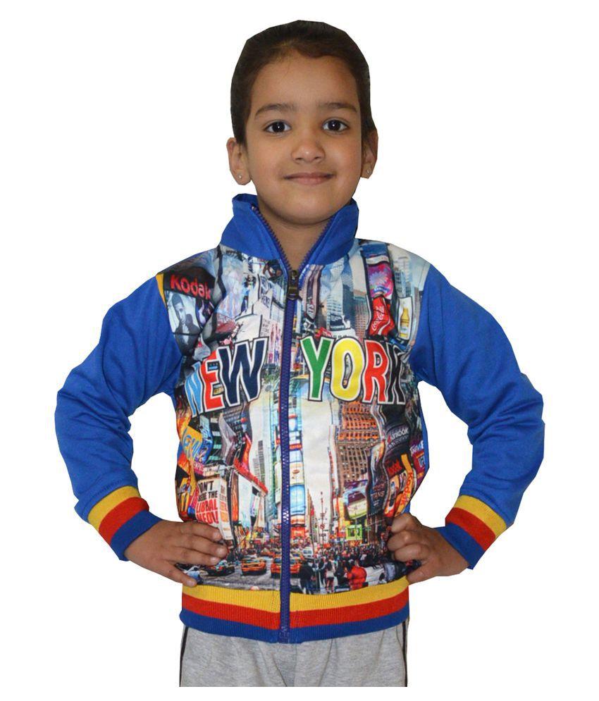 Shaun Girl's Multicolor Sweatshirt