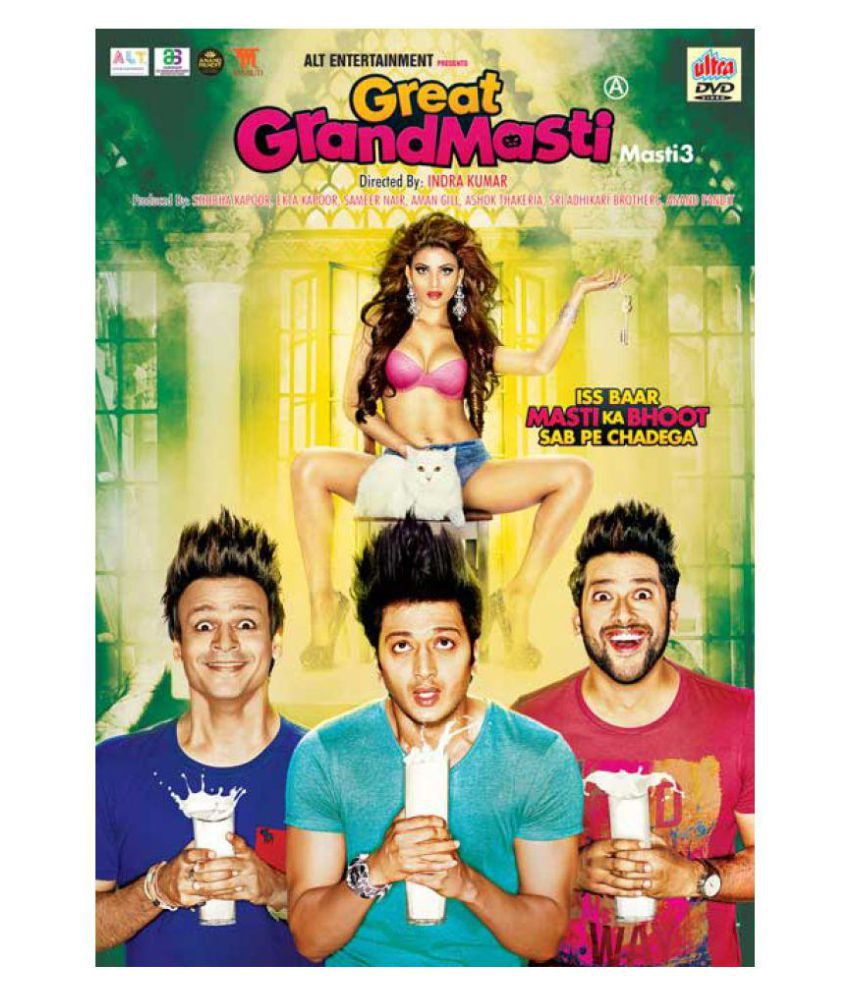 GREAT GRAND MASTI Hindi Movie 2016 DVD ( DVD )- Hindi