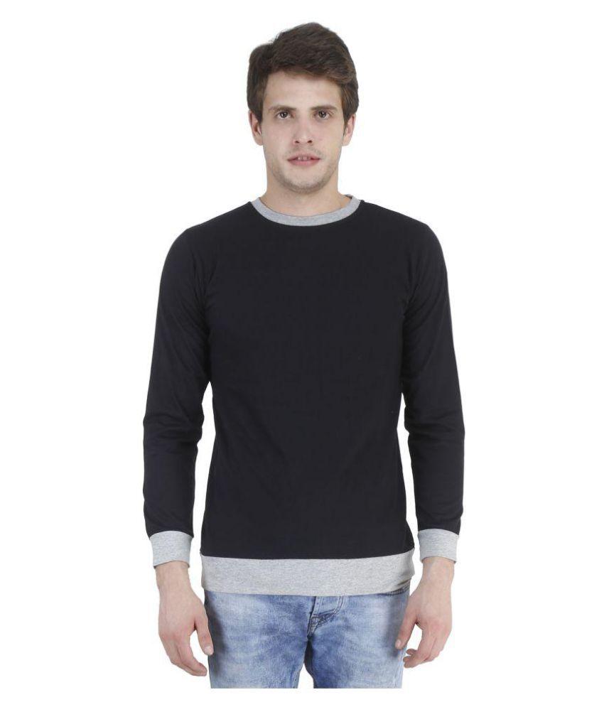 Swager Black Round T-Shirt