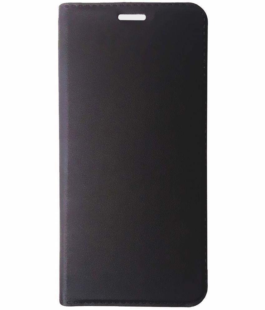 LYF Earth 1 Flip Cover by WIITTYOWL - Black