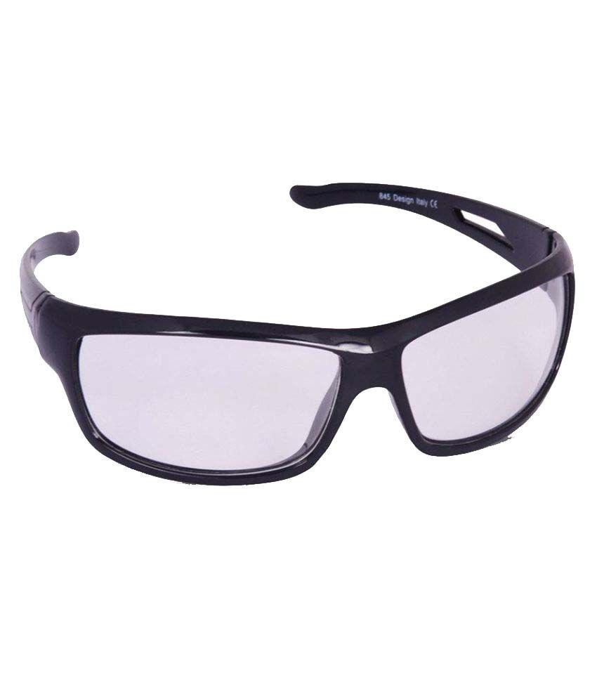 XLNC Black Oval Sunglasses ( NDBLWH01 )
