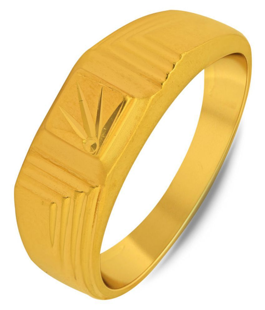 P.N.Gadgil Jewellers 22k Yellow Gold Ring