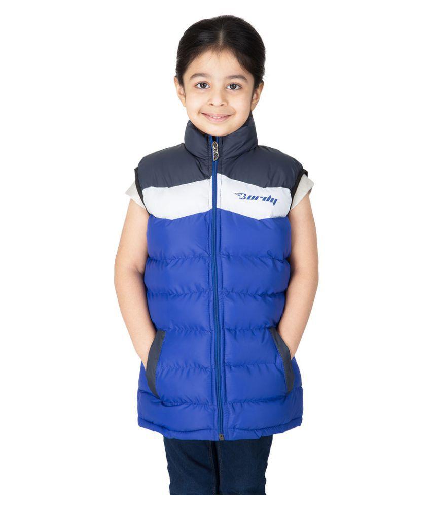 Burdy Multicolour Polyester Jacket
